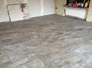 Wohnzimmer Renovierung mit Fliesen, Trockenbau und Vertäfelung_7
